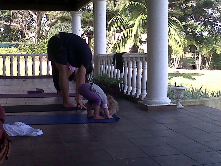 Yoga at Macadamia Lodge -The Beginning